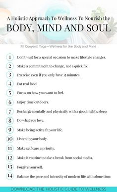 14 Easy Lifestyle Habits To Stay Healthy, Happy and Fit Take a holistic approach. - 14 Easy Lifestyle Habits To Stay Healthy, Happy and Fit Take a holistic approach to wellness that n - Holistic Wellness, Holistic Approach, Holistic Healing, Healthy Holistic Living, Wellness Tips, Holistic Nutrition, Holistic Education, Employee Wellness, Holistic Health Coach