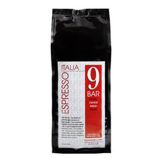 9 Bar Espresso Italia Coffee (1 lb.)  (1000)