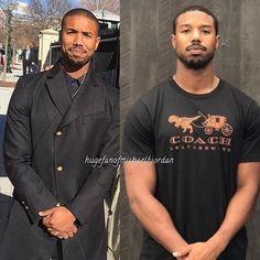 Michael B Jordan Shirtless, Michael Bakari Jordan, Black Boys, Black Men, Bae, Soul Brothers, Coincidences, Look Alike, Most Beautiful Man
