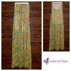 SHOW ME YOUR MUMU Dress Waterfall Tube Print Maxi Size Small. New with tags. $172 Retail + Tax.   - Gorgeous printed maxi dress featuring an elastic top band, cutout back and waterfall, flowy silhouette. - Lined with a mini dress.   Poly Chiffon. Made in the USA.   Measurements provided below.   ❗️ No trades, holds, or Modeling.    Bundle 2+ items for a 20% discount!    Stop by my closet for even more items from this brand!  ✔️ Items are priced to sell, however reasonable offers will be…