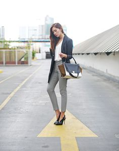 Business Casual Ft. Zaful, Céline | Camille Tries To Blog