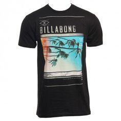 Billabong Mens Shirt Turbulence Black