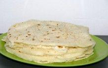 Zelf tortilla's maken van maismeel, water en zout