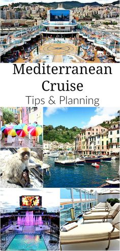Mediterranean cruise - great tips for planning your cruise vacation