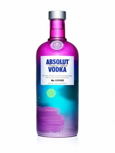 Absolut Vodka using beautiful colours here. #Packaging #alcoholbranding