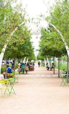 Klyde Warren Park is an innovative 5.2 acre park separating uptown and downtown Dallas. #FIJIWATER #TRAVEL