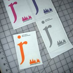 Getting a label design printed on fabric to attach to quilts and other projects.  NEED to do this!
