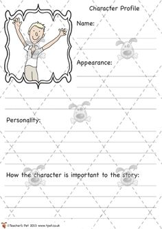 Teacher's Pet - James and the Giant Peach Character Profiles - Premium Printable Classroom Activities and Games - EYFS, KS1, KS2, Roald Dahl, characters, James and the Giant Peach, profile, description, describe Roald Dahl Day, Roald Dahl Books, Character Activities, Teaching Character, Roald Dahl Activities, Character Profile, Character Description Ks2, James And Giant Peach, The Twits