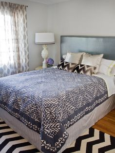 Bedroom Makeovers under 200 Buck$ --> http://www.hgtv.com/bedrooms/under-200-bedroom-updates-from-design-experts/pictures/page-10.html?soc=pinterest