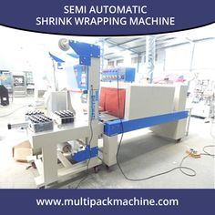 Semi Automatic Shrink Wrapping Machine - http://www.multipackmachine.com/semi-automatic-shrink-wraping-machine/ or bottle , Shrink Wrapping Machine, Bottle Shrink Wrapper.
