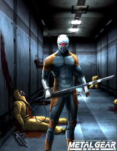metal gear solid gray fox - Google Search