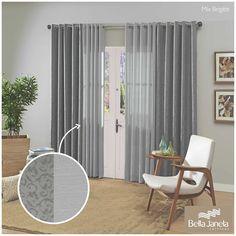 Uma cortina Mix para deixar sua casa ainda mais charmosa!