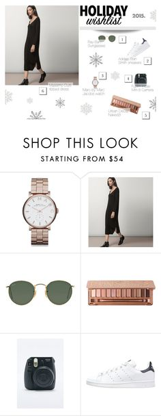 """""""My Wish list :)"""" by biljanamilenkovic ❤ liked on Polyvore featuring Marc by Marc Jacobs, Massimo Dutti, Ray-Ban, Urban Decay, adidas Originals, contestentry and 2015wishlist"""