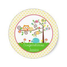 Tree Owl Stickers