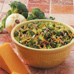 Cheddar Broccoli Salad
