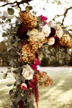Ceremony Arch:: Flowers: Moss Floral Design I Photography: A Nomadic Love I Venue : White Sparrow Barn I Stylist: Yvette and Marie Events