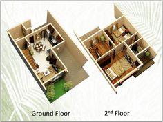 15 House Designs For 60sqm Lot Ideas House House Design Design