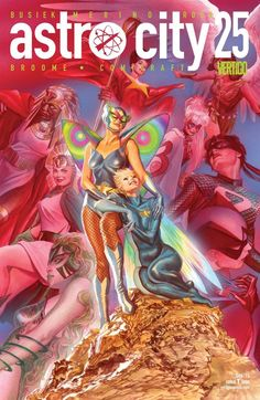 Astro City (2013-) #25 It's an Honor Guard spotlight with guest artist Jesus Merino: Blessed from birth by powerful forces, Hummingbird's young life has practically been a fairy tale. But charmed lives come with hidden curses—and her curse may just prove fatal. Luckily, she's not fighting it alone. Guest starring Cleopatra, Starwoman, Mermaid, Greymalkin and the other women of Honor Guard.