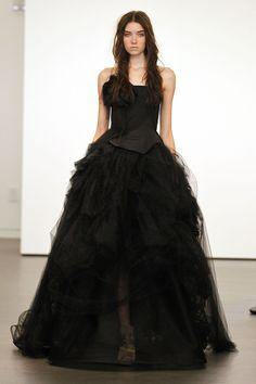 Black Wedding Dresses: Ghoulish or Glamorous? | Photo Gallery - Yahoo! Shine