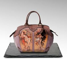 8782788d530d Collection by a Russian bag brand ANTE KOVAC, inspired by an iconic artist  Alphonse Mucha
