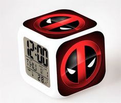 deadpool Alarm Clock