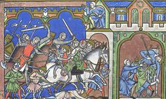 Maciejowski Bibel, fol. 12r, ca. 1250, Paris.