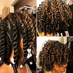 """21 Likes, 1 Comments - Kisha Mims Brackett (@mrslgmb) on Instagram: """"This pictorial of a #TwistAndCurl by @theother_queenb is inspiring! One day soon, I will master…"""""""