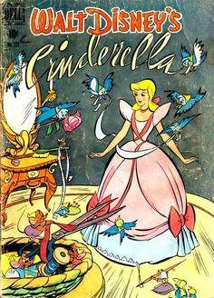 Walt Disney - Comic Book - Cinderella 1950's