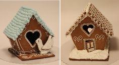 Kakkusankari: Piparkakkutalojen kaavat Gingerbread Houses, Baking, Christmas, Food, Recipes, Xmas, Bakken, Essen, Navidad