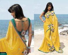 traditional Indian dress- Saree(unstitched 6mt.fabric wrap around body)