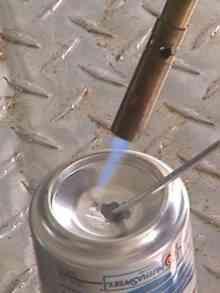 Aluminum repair kits, repair any aluminum metal by welding with a Propane Torch - Alumiweld