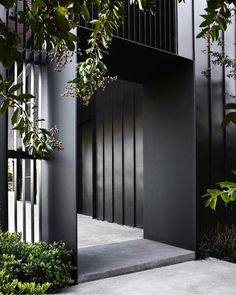 Steel entrance gate - Designer unknown