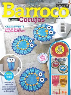 Artesanato com amor...by Lu Guimarães: LANÇAMENTO: Revista Barroco Especial Corujas
