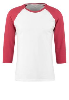 YOUR TURN Langarmshirt white/red Bekleidung bei Zalando.de | Material Oberstoff: 100% Baumwolle | Bekleidung jetzt versandkostenfrei bei Zalando.de bestellen!