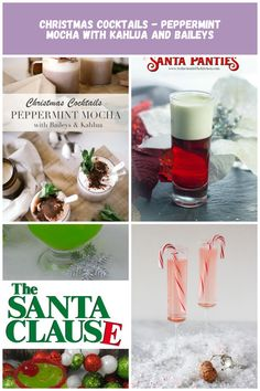 Christmas Cocktails using Kahlua and Baileys - the Peppermint Mocha Christmas Cocktails Christmas Cocktails - Peppermint Mocha with Kahlua and Baileys Peppermint Mocha, Christmas Cocktails, Baileys, Alcoholic Drinks, Food, Meal, Liquor Drinks, Essen, Alcoholic Beverages