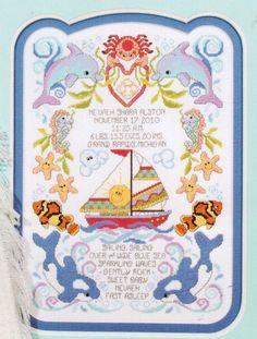 Sea Babies - Cross Stitch Pattern