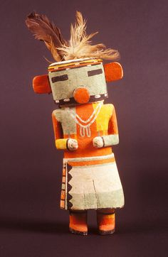 Hopi  kachina doll, E3799 Museum of Northern Arizona, Flagstaff, Arizona