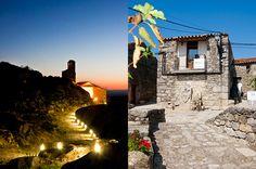 Camino al Castillo y Apartamentos A Fala