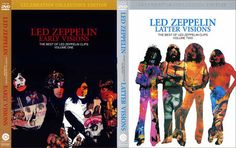 Led Zeppelin: Early Visions (1957-1972) & Latter Visions (1973-1980) Bootlegs 4xDVD5