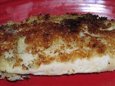 Tangy Pan Fried Tilapia from Food.com: I don't remember where I got this recipe from but is is lower cal that most. You can also bake but the crust is much better when you pan-fry.