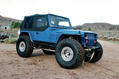 Take a look at the jeep that Editor Trasborg says started it all, this 1994 Jeep Wrangler. The build began with a lift and the rest is history.