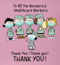 The Peanuts Gang Thanks All the Healthcare Workers! Snoopy Cartoon, Peanuts Cartoon, Peanuts Snoopy, Snoopy Love, Snoopy And Woodstock, Charlie Brown Quotes, Charlie Brown Y Snoopy, Images Snoopy, Snoopy Pictures