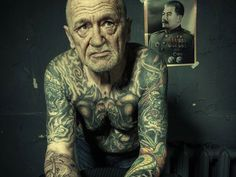 30 Remarkable Old People With Tattoos - SloDive