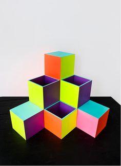 Neon art of Ben Jones Neon Classroom Decor, Ben Jones, Neon Design, Logo Design, Art Cube, Fashion Design For Kids, Math Art, Art Store, Teaching Art