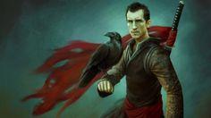 Fantasy Men Wallpaper | ... : Comics Artists Hd Wallpapers Subcategory: Raven Hd Wallpapers