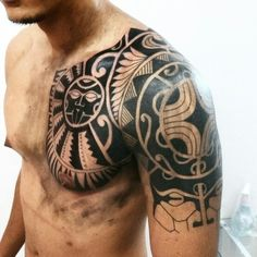 #Franz_maori  #tribal #maori #tattoo #polinesian