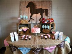 Cowgirl Birthday Party!