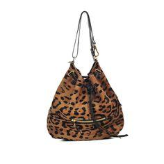 Jérôme Dreyfuss Alain leopard-print leather bag