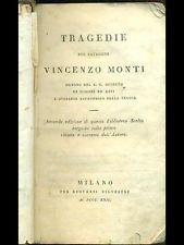 LETTERATURA E GRAMMATICA ITALIANA: schema - le opere del Monti