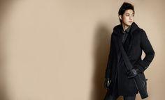 "4dkimhyunjoong: "" kim hyun joong for i'm david 2010 winter collection "" My star"